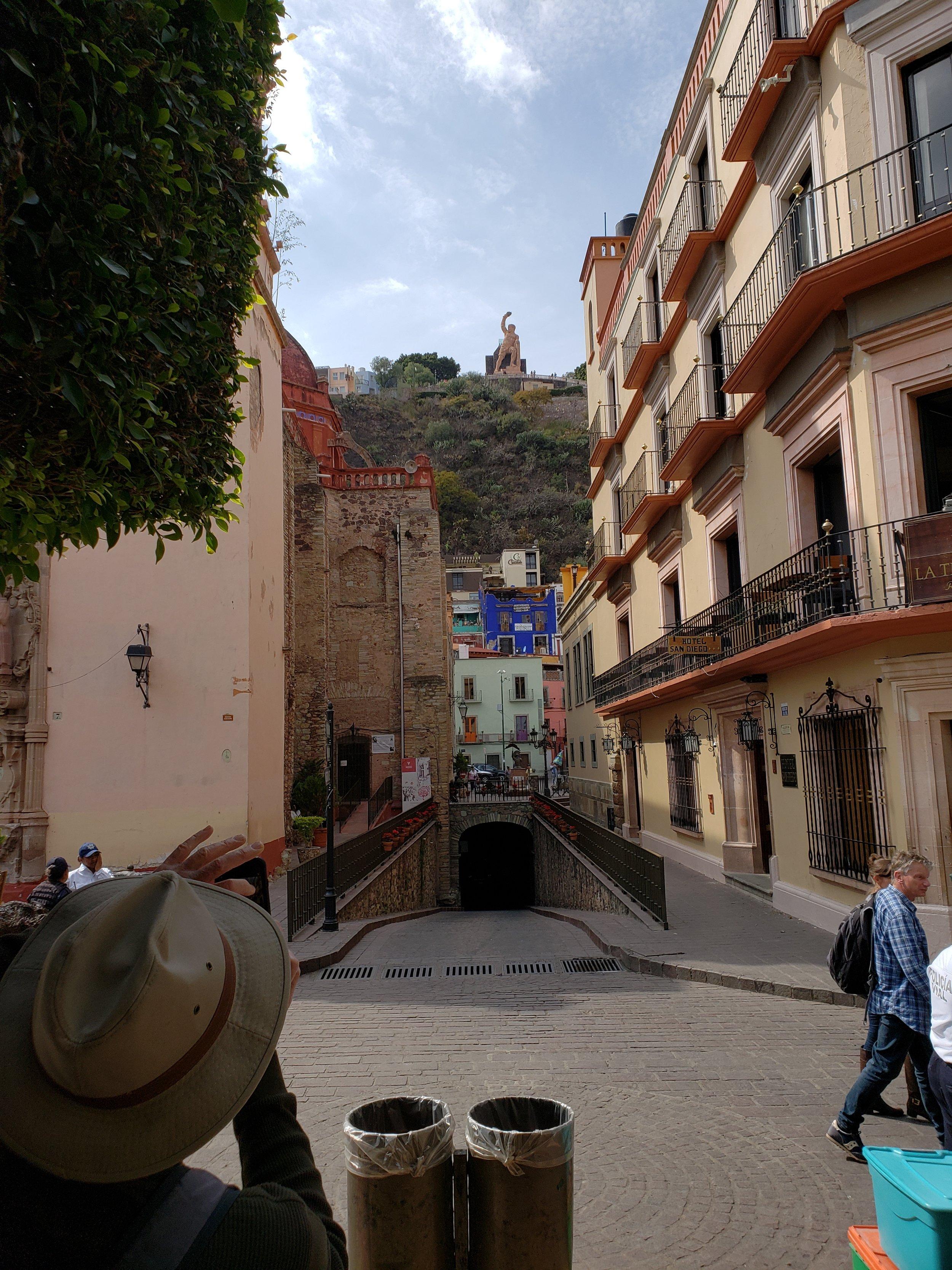 Tunnel entrance in Guanajuato