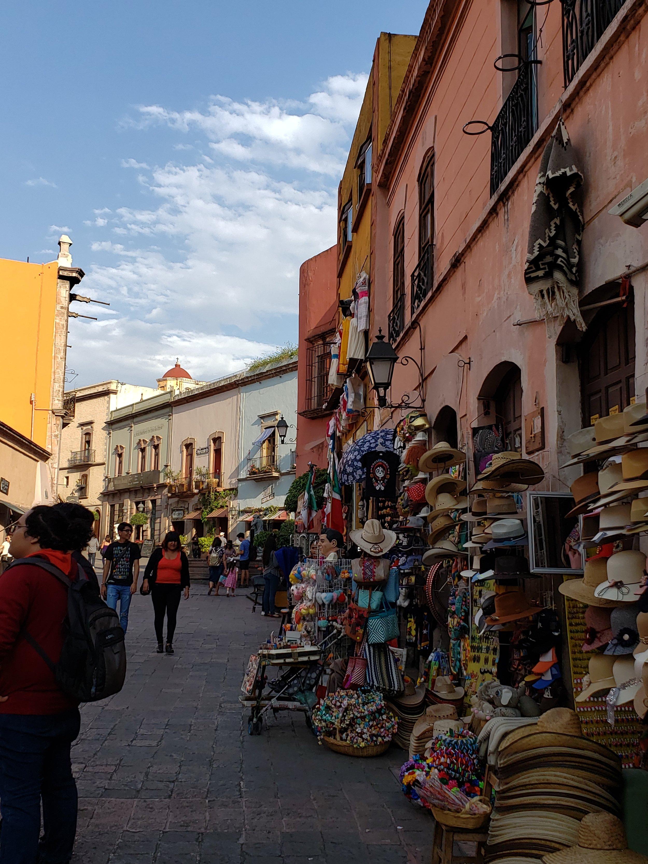 Street scene in Gueretero