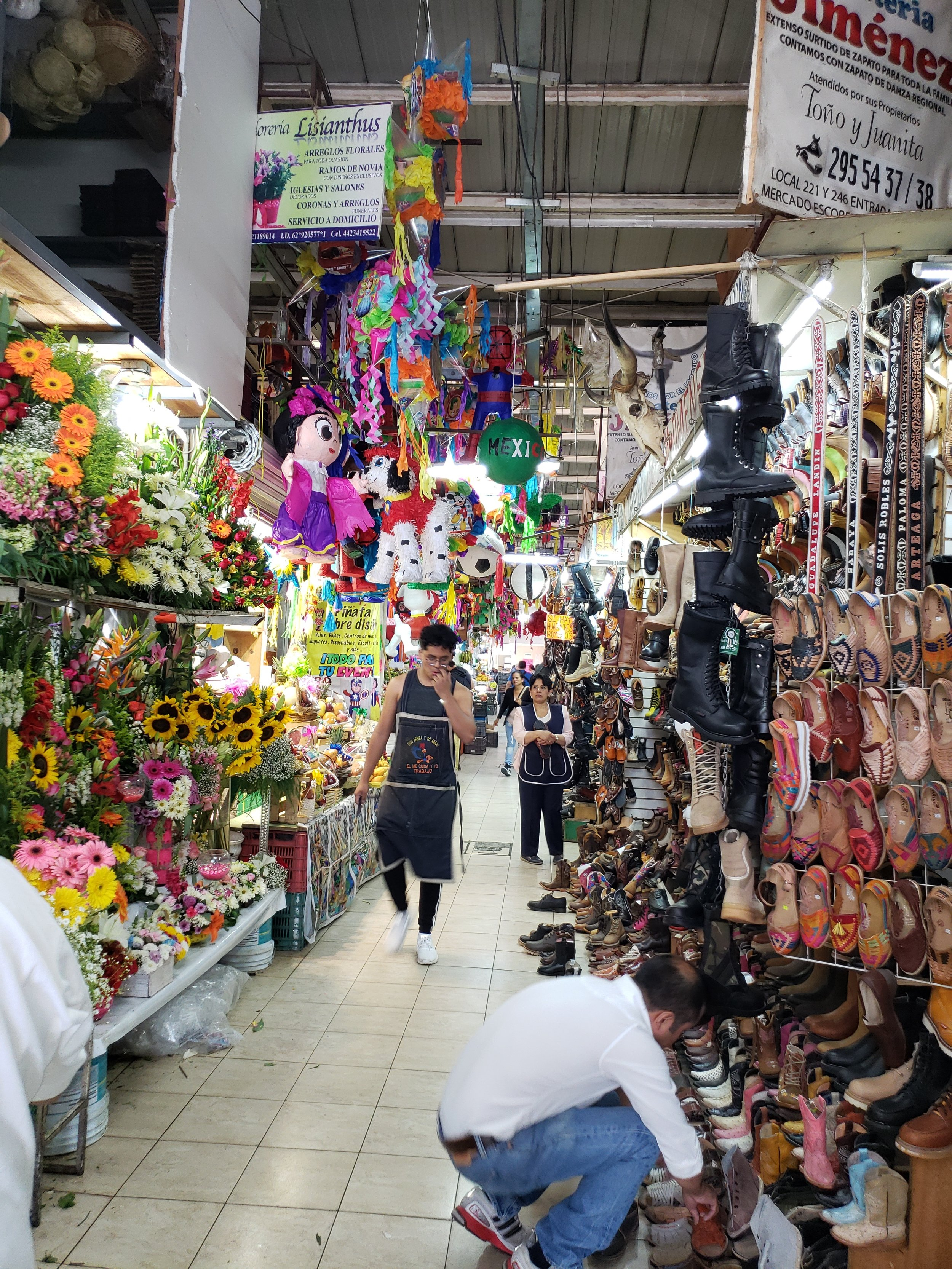 The central market in Gueretero