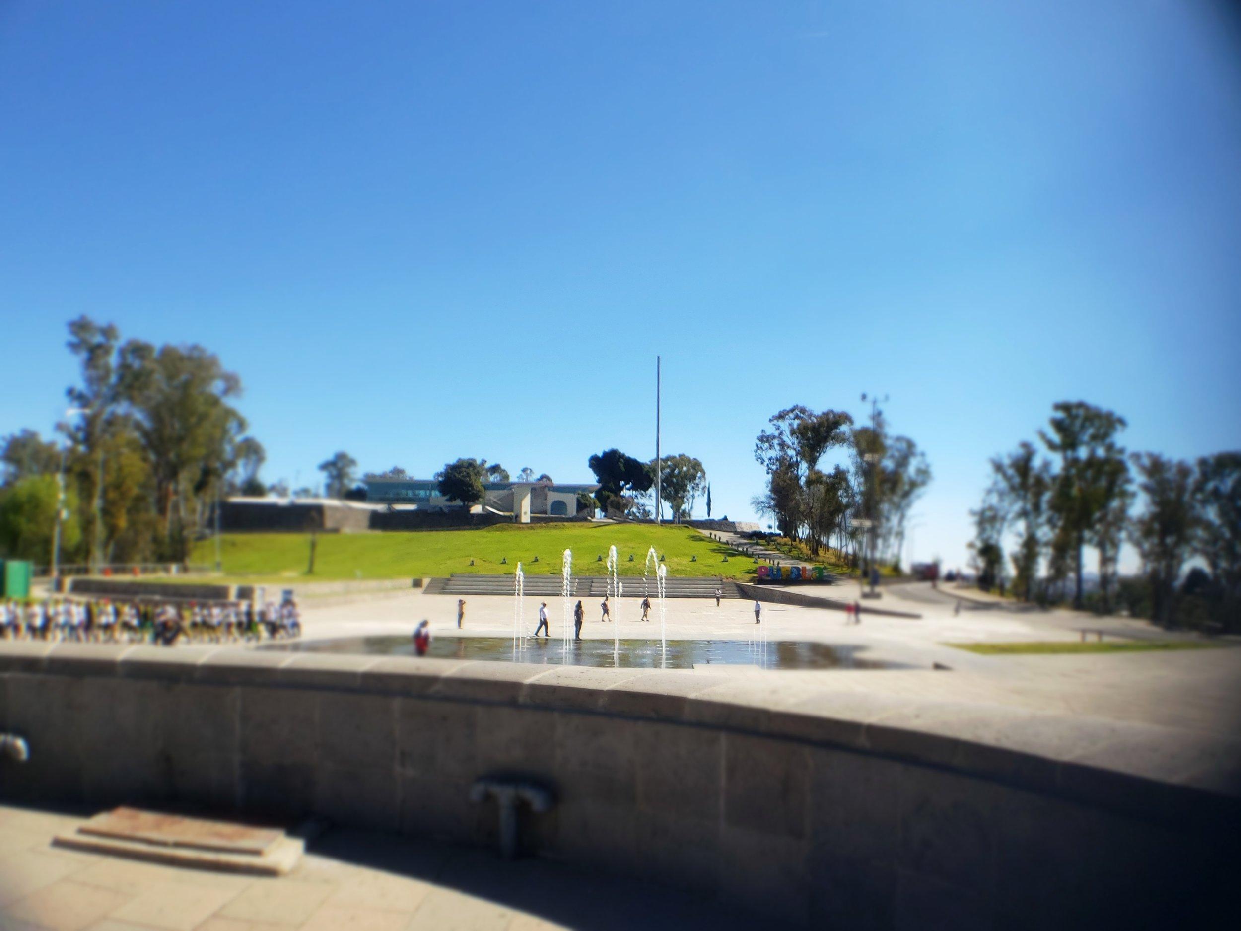 Cinco de Maya memorial in Puebla