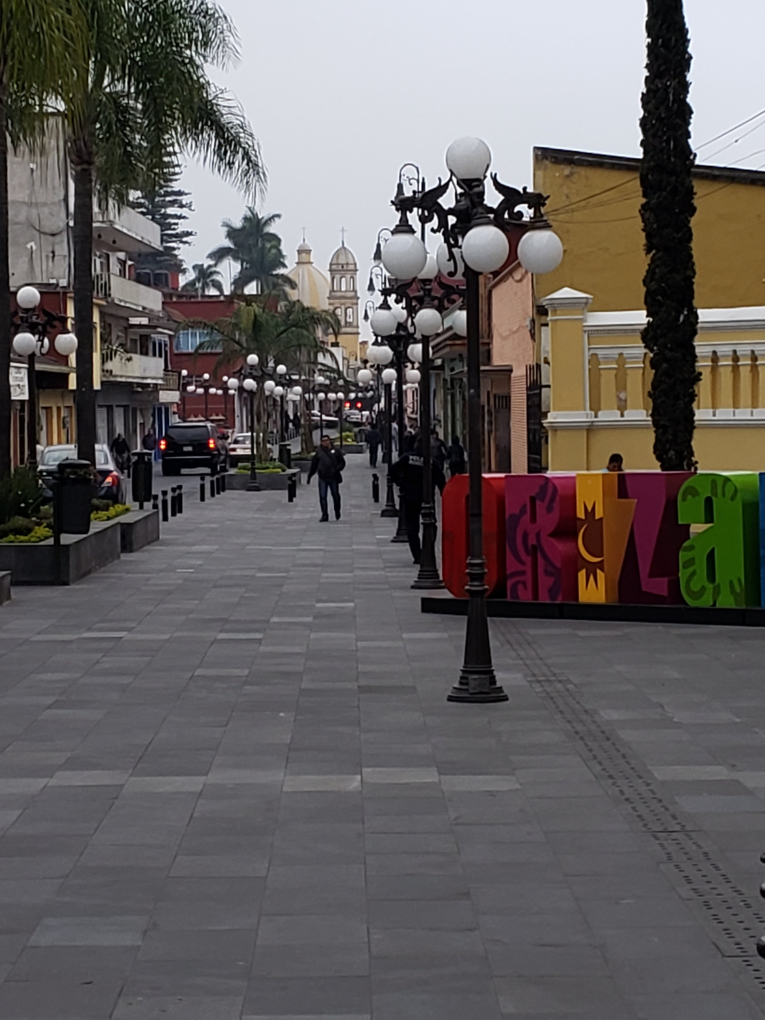 Street scene in Orizaba