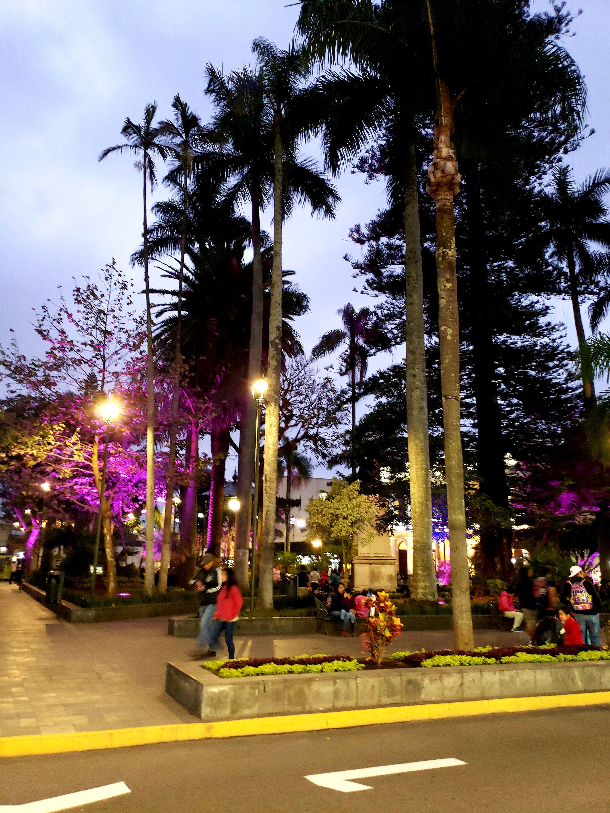 Evening in Orizaba