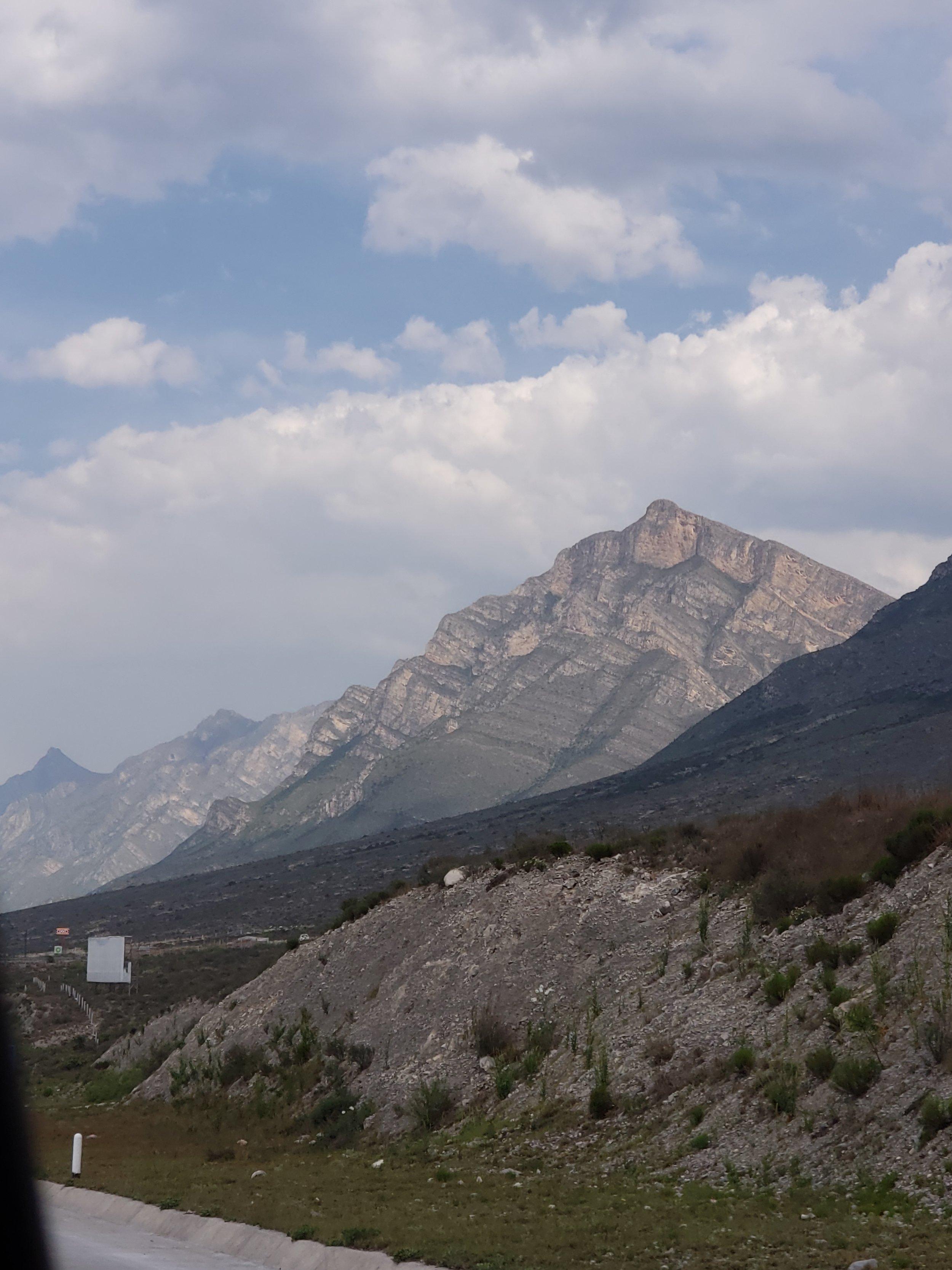 Coming into Monterrey