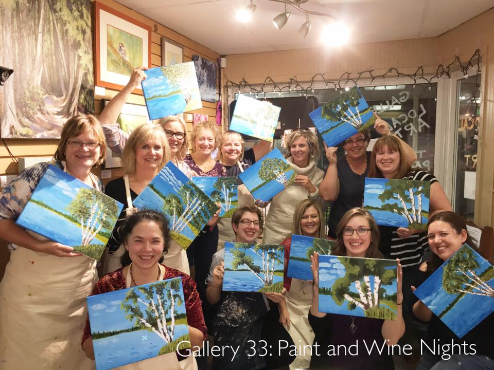 """Paint and Wine Nights!"""