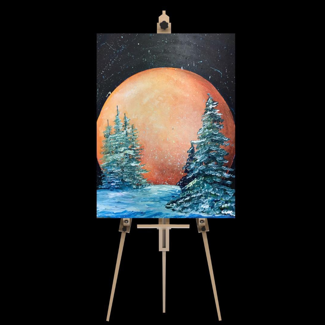"""Tuesday December 18th 7:00pm-9:30pm """"Blood Moon"""""""