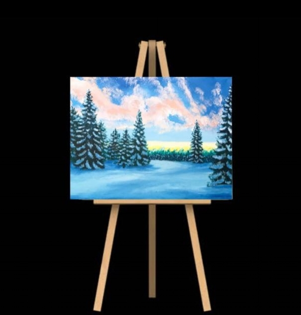 "Wednesday December 12th 7:00pm-9:30pm ""Winter Sunrise"""