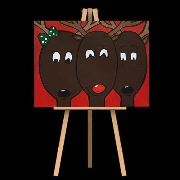 "Monday December 17th 7:00pm-9:30pm ""Reindeer"""