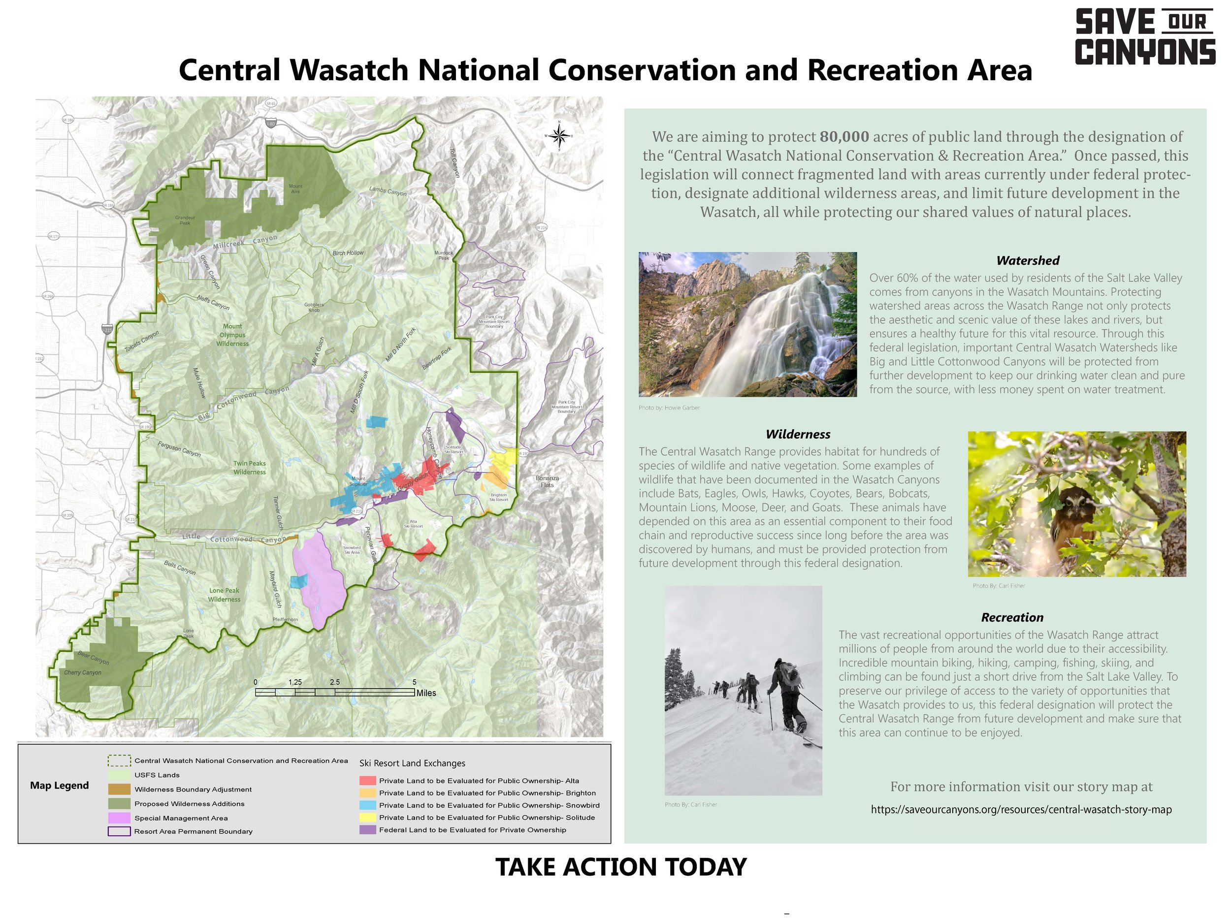 Visualizing conservation in the Central Wasatch -