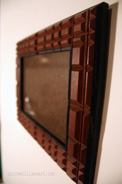 ipe and ebony wood frame2_Lamella_13x10_coirewilliamsart_com.jpg