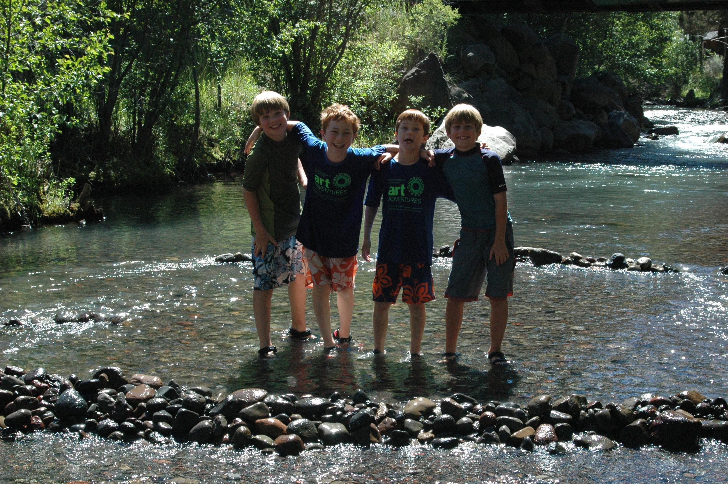 Summertime Fun in the Creek.jpeg
