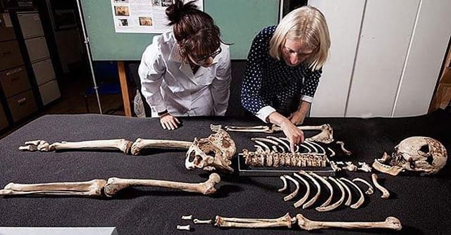 #Repost @archaeologymagazine ・・・ A genetic study of human remains dating to as early as 8500 B.C. indicates that early farmers from the region around the Aegean Sea arrived in Britain some 6,000 years ago and replaced the local hunter-gather population.  archaeology.org/news/  #Archaeology #Ancient #Britain #Aegean #Migration #Farmer #Genetics (London's Natural History Museum)