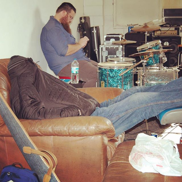 Too much fun? No such thing. #hangoverrehearsals #partychronicles #struggleisreal #bradywestonband @jdh36