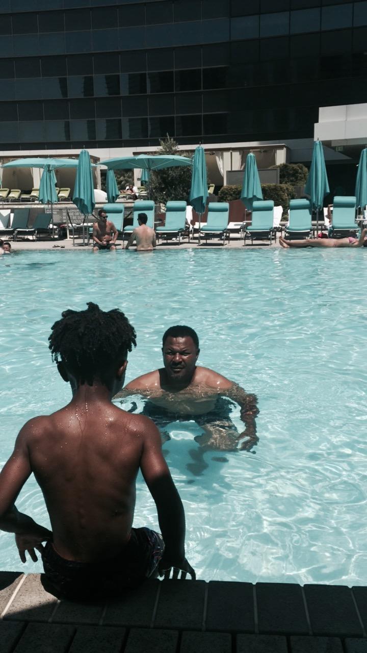 Quality pool time