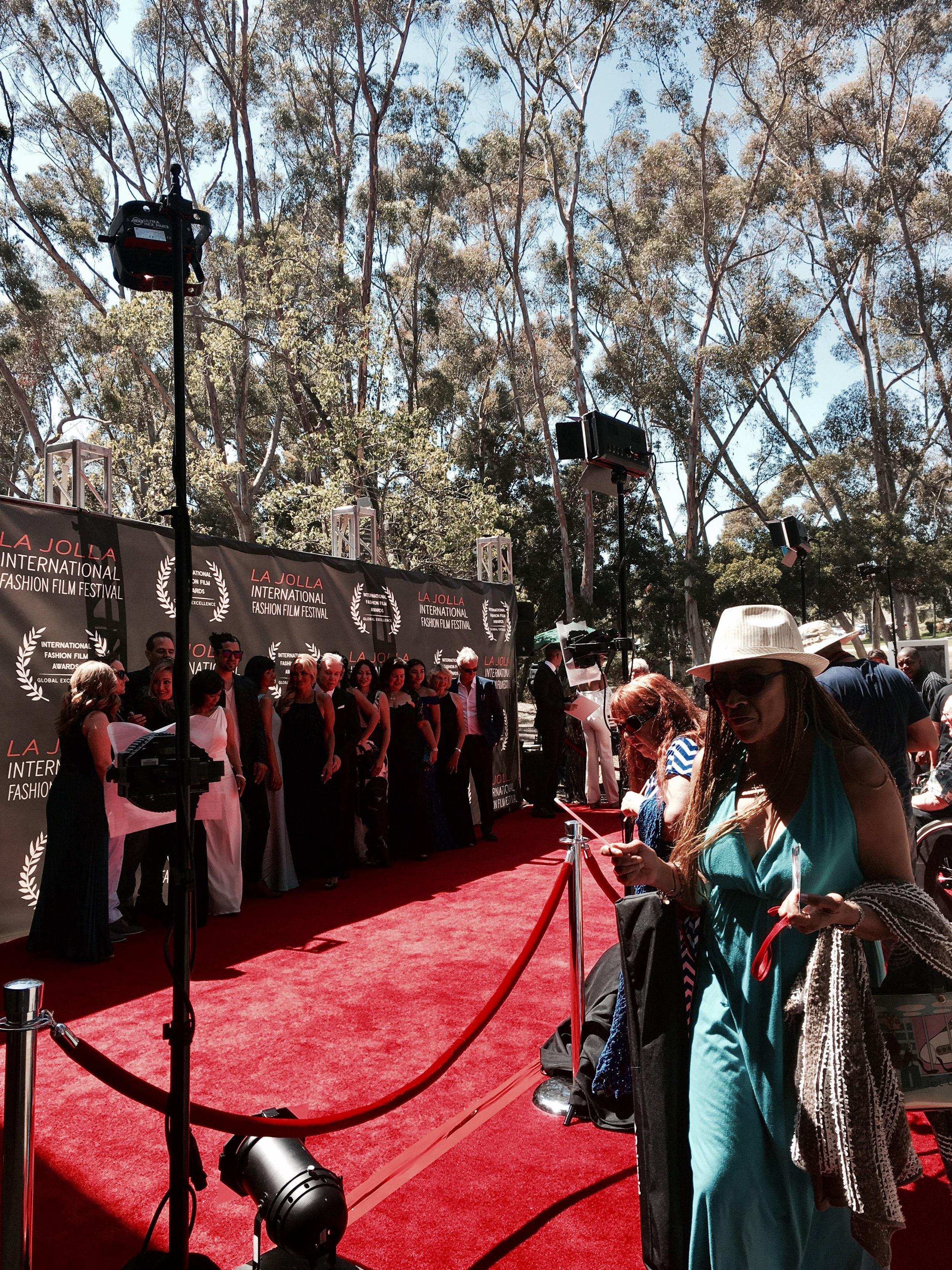 Traffic on the Red Carpet