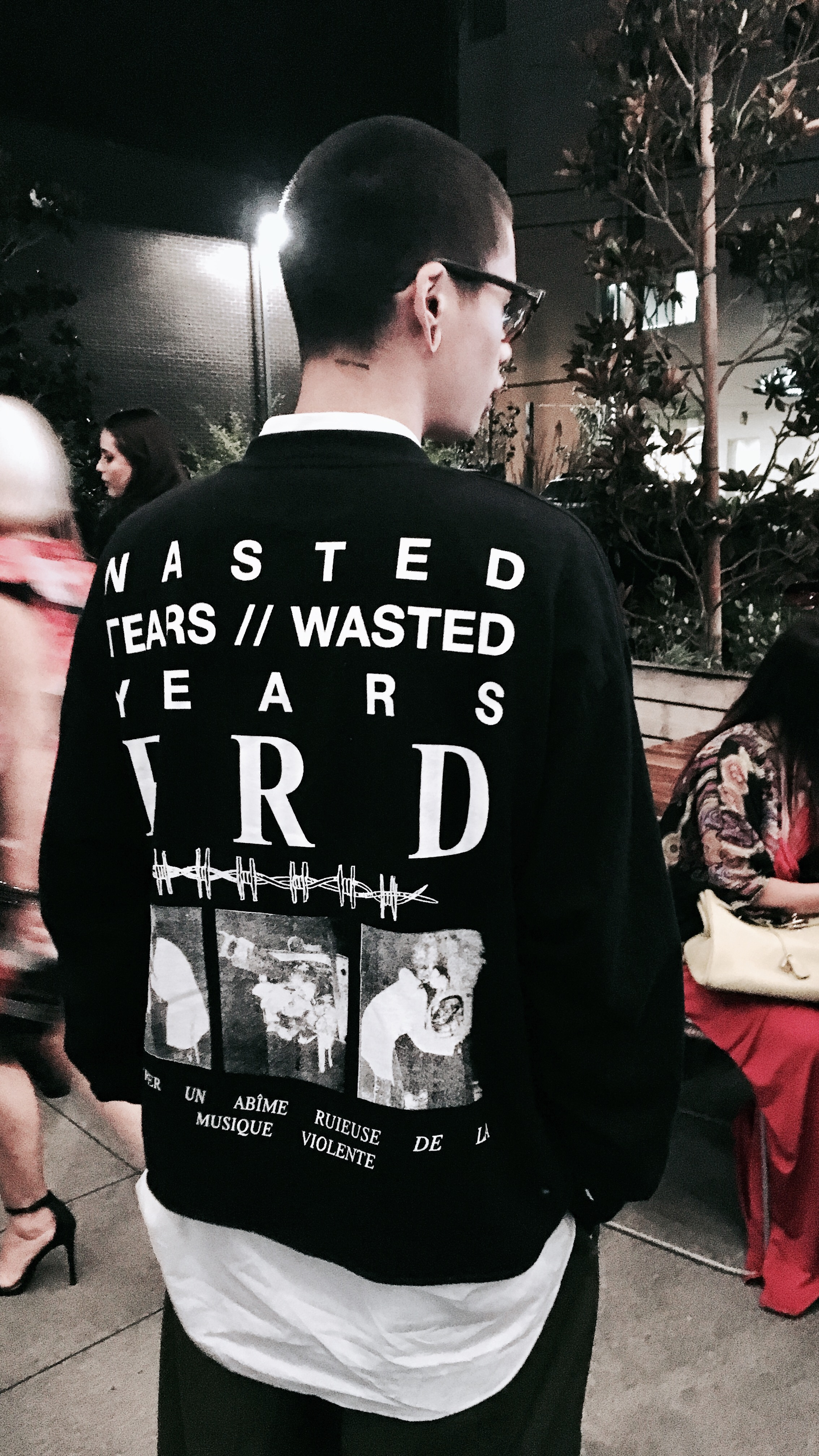 WASTED YEARS/WASTED TEARS