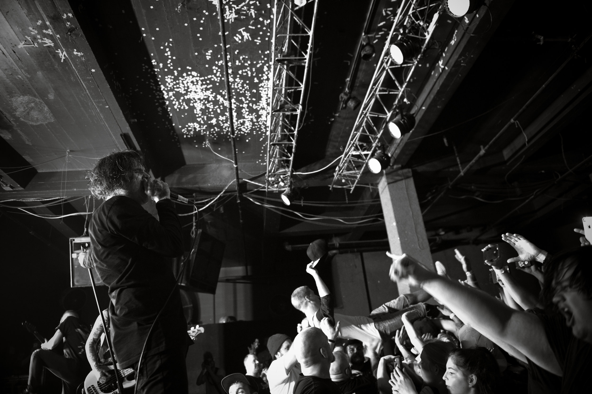 The  Amity Affliction  always put on a high energy show. Image by  Michelle Waters .