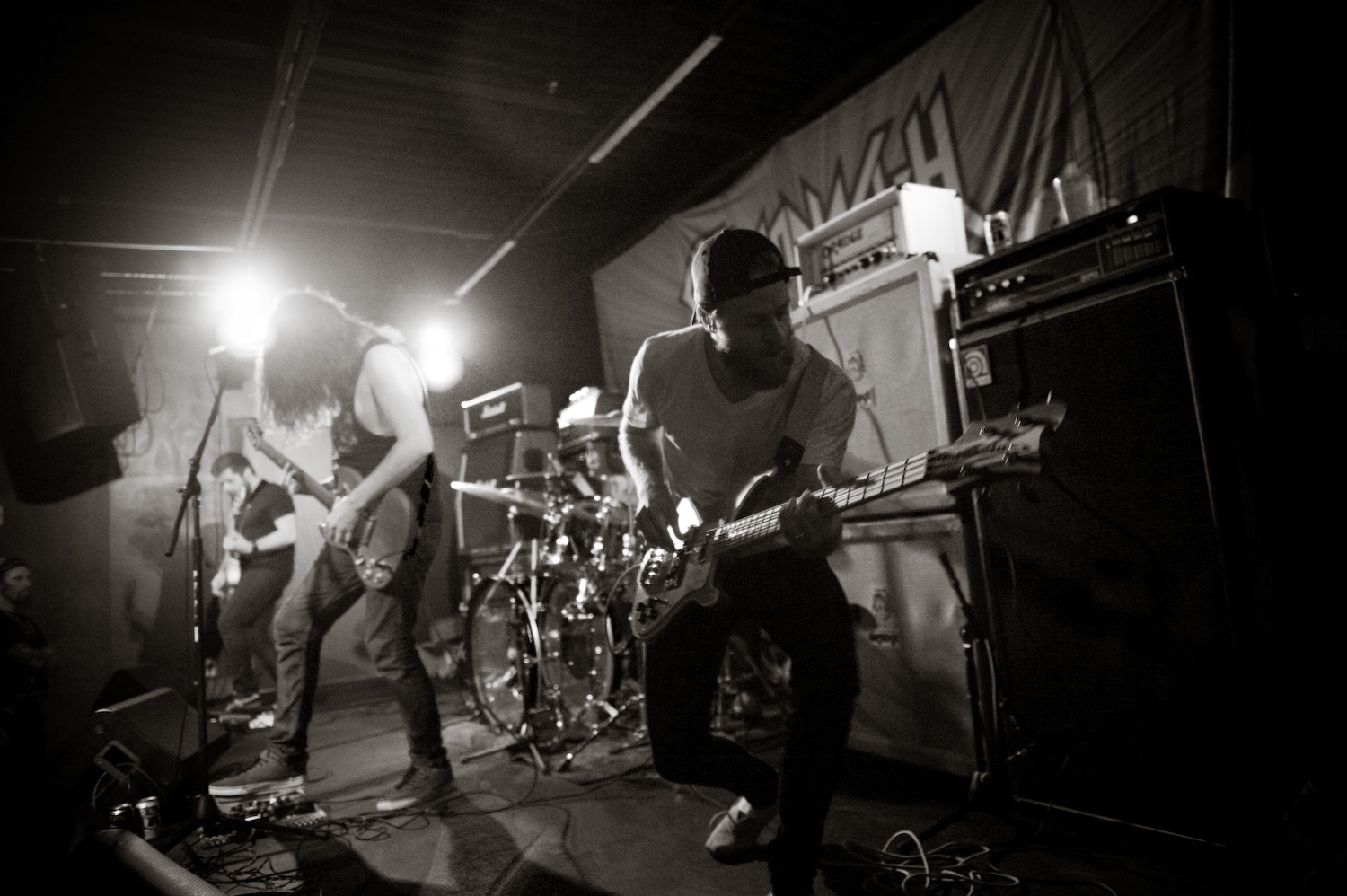 Horseburner  (from Parkersburg, WV) is performing at Charleston's The Blue Parrot, this coming Saturday, with  Dread Utopia  and  Signals . If you missed  Michelle 's interview with Horseburner earlier in the month, you can check it out,  here . Photo by Michelle Waters
