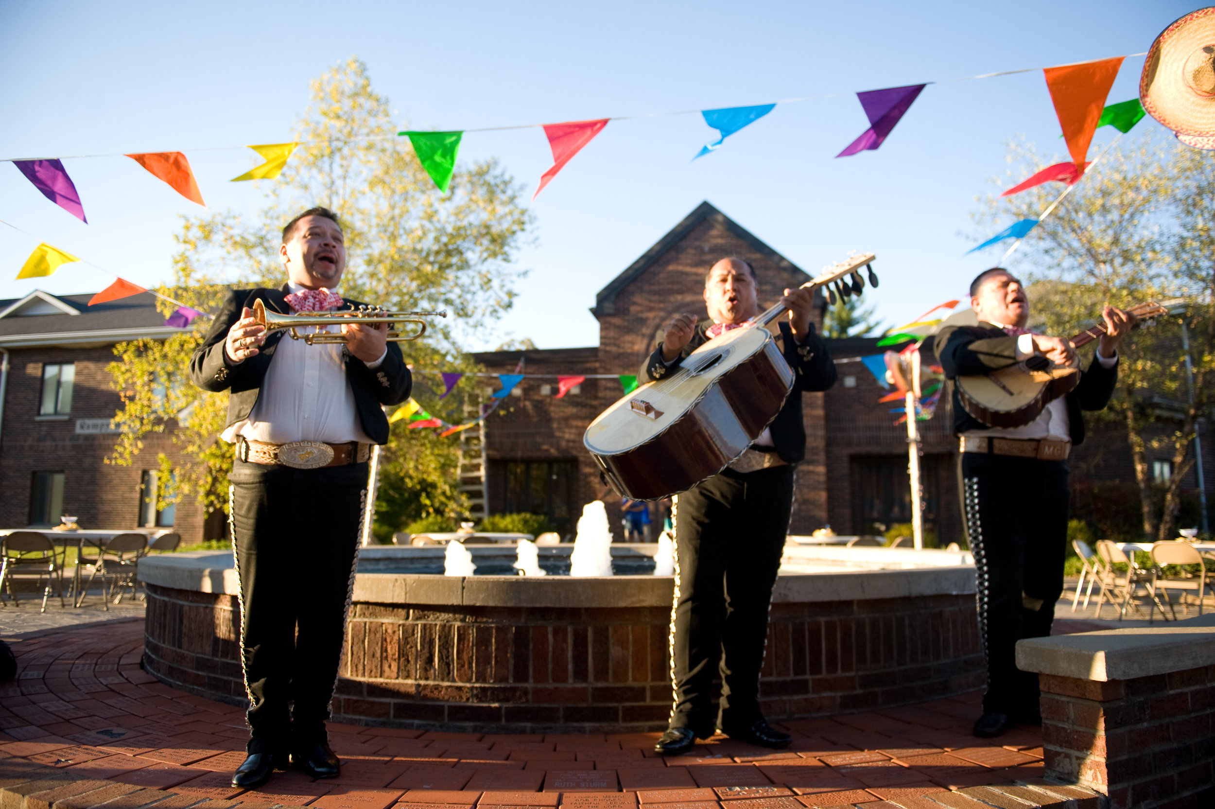 Mariachi Guadalajara performed at last month's segment of the OVU Performing Arts Series. Photo by Michelle Waters.