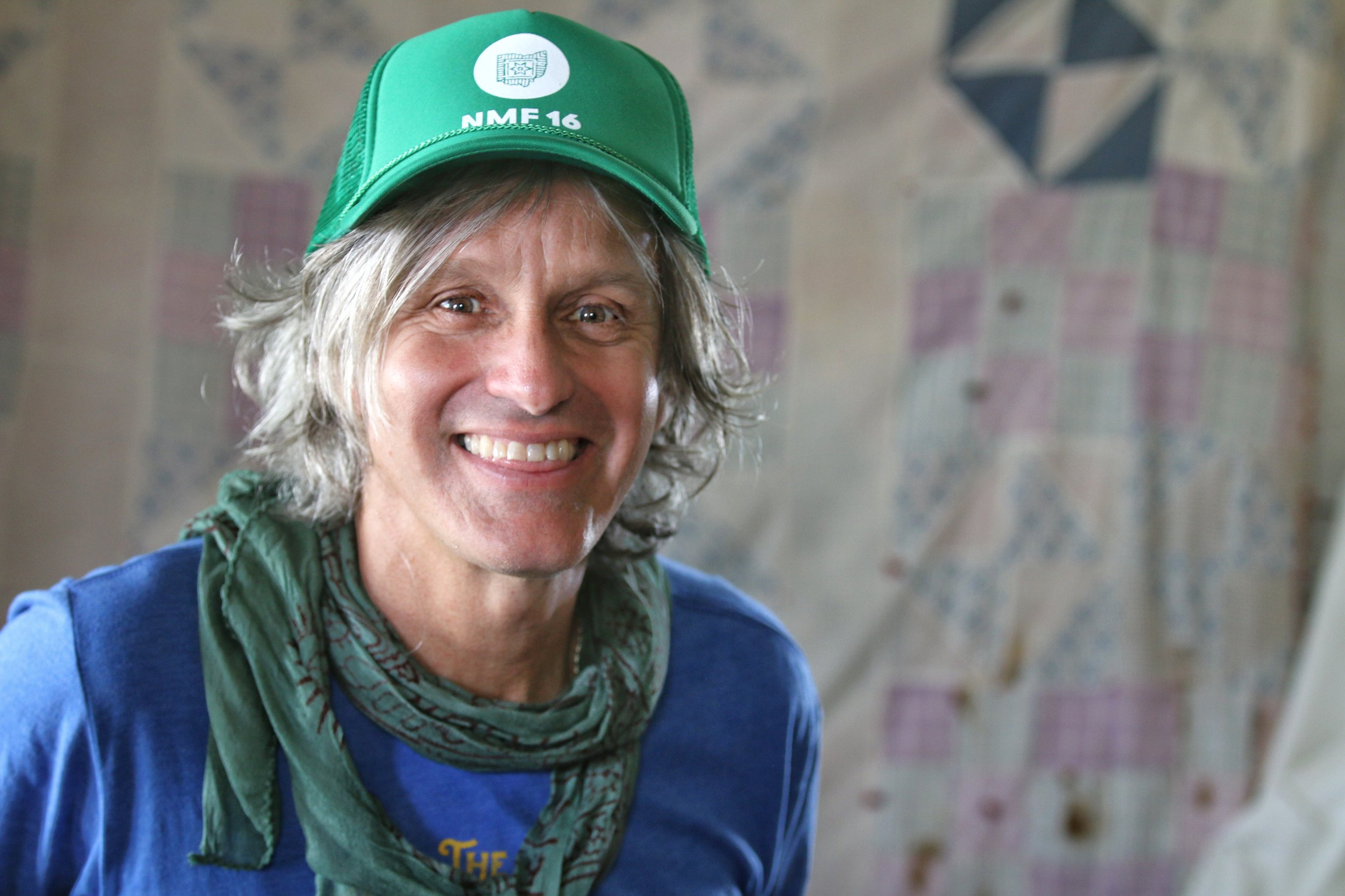 Nelsonville welcomes the return of  Steve Poltz  and his amazing energy, tomorrow night at  Stuart's Opera House . Portrait by  Chad Cochran .