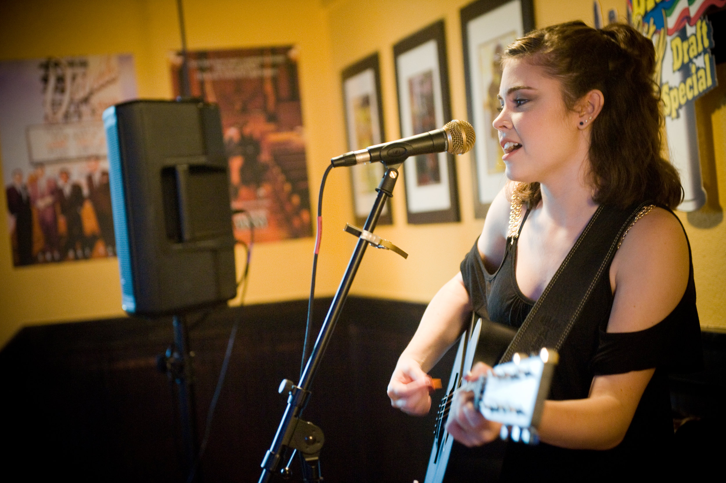 Parkersburg's singer-songwriter and pop artist  Megan Galici ,returns to  Undo's on the Pike , this coming Friday. Photo by Michelle Waters.