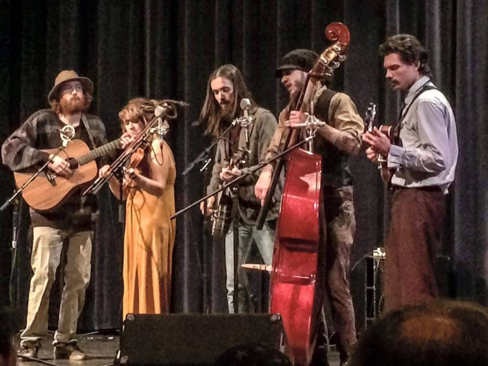 """The Kind Thieves:  As part of the inspiration for the band's name, The Kind Thieves list this as their bio:  """"Many a thief is a better man than many a clergyman, and miles nearer the gate of the kingdom""""- George Macdonald  The Kind Thieves bring beautiful life to their folk/bluegrass music that we can't wait for you to hear!"""
