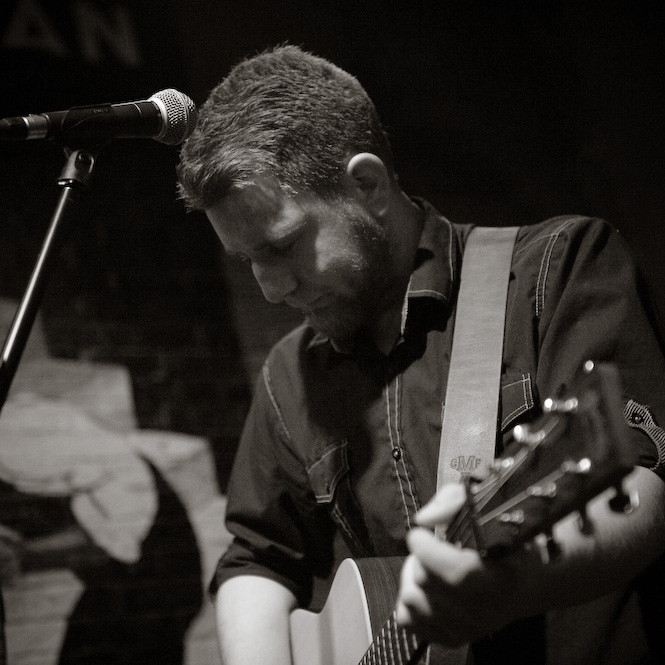 Levi Westfall:   Levi Westfall is the lead singer of Newfeather. He's agreed to play a solo acoustic set as well as a band set, and we're so glad he has. His live performance will leave your ears happy and ready for more.