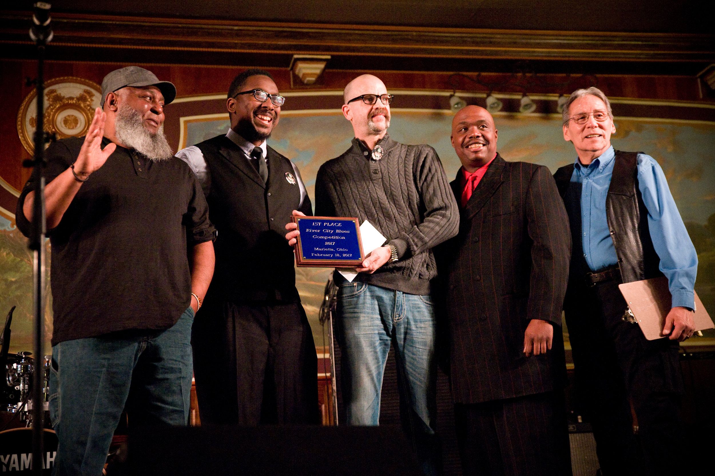 Winners of this year's River City Blues Competition,Gough-Martin Blues Band, will perform at the River City Blues Fest, this coming weekend. Photo by  Michelle Waters.