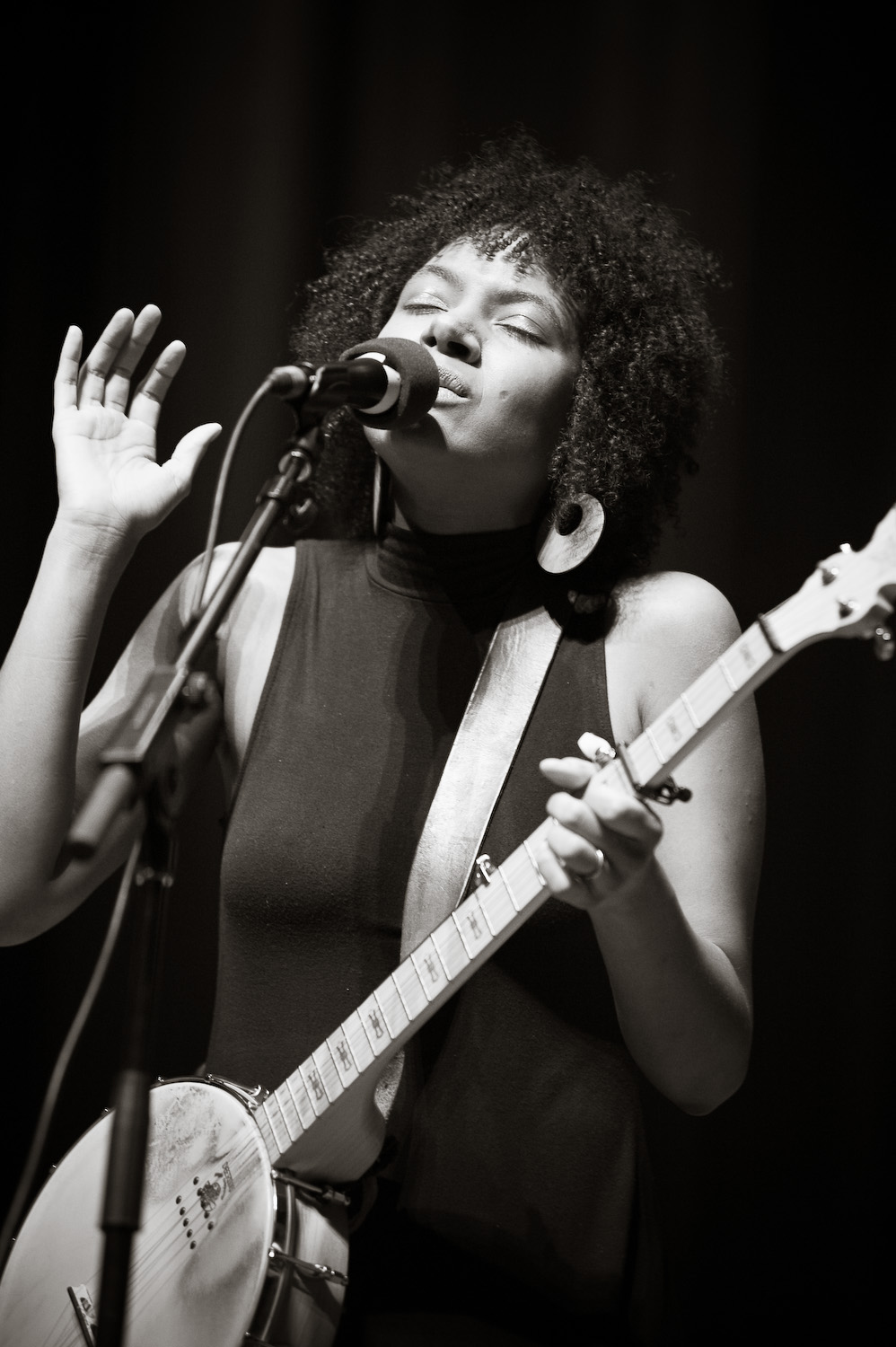 Birds of Chicago 's Allison Russell by  Michelle Waters.