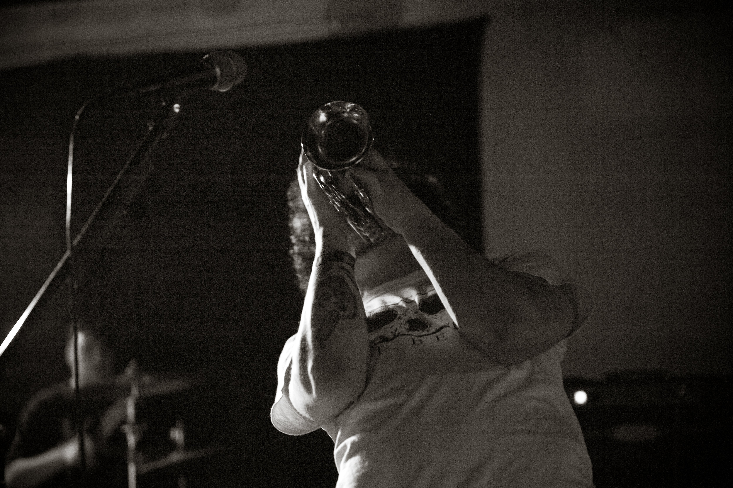 Judd Hynes of  Mooney Tyson  will be putting down the metaphorical piccolo trumpet at Mooney Tyson's last show this coming Saturday, at Athens, Ohio's The Ranch. Photo by  Michelle Waters .