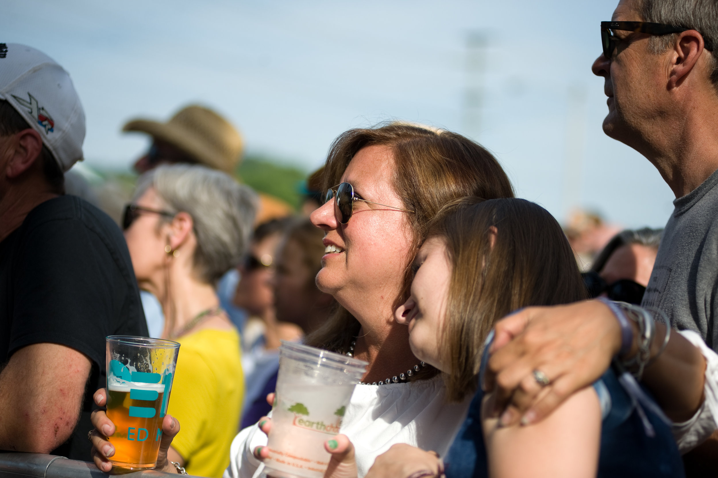 Family comes together over a variety of great music at NMF.