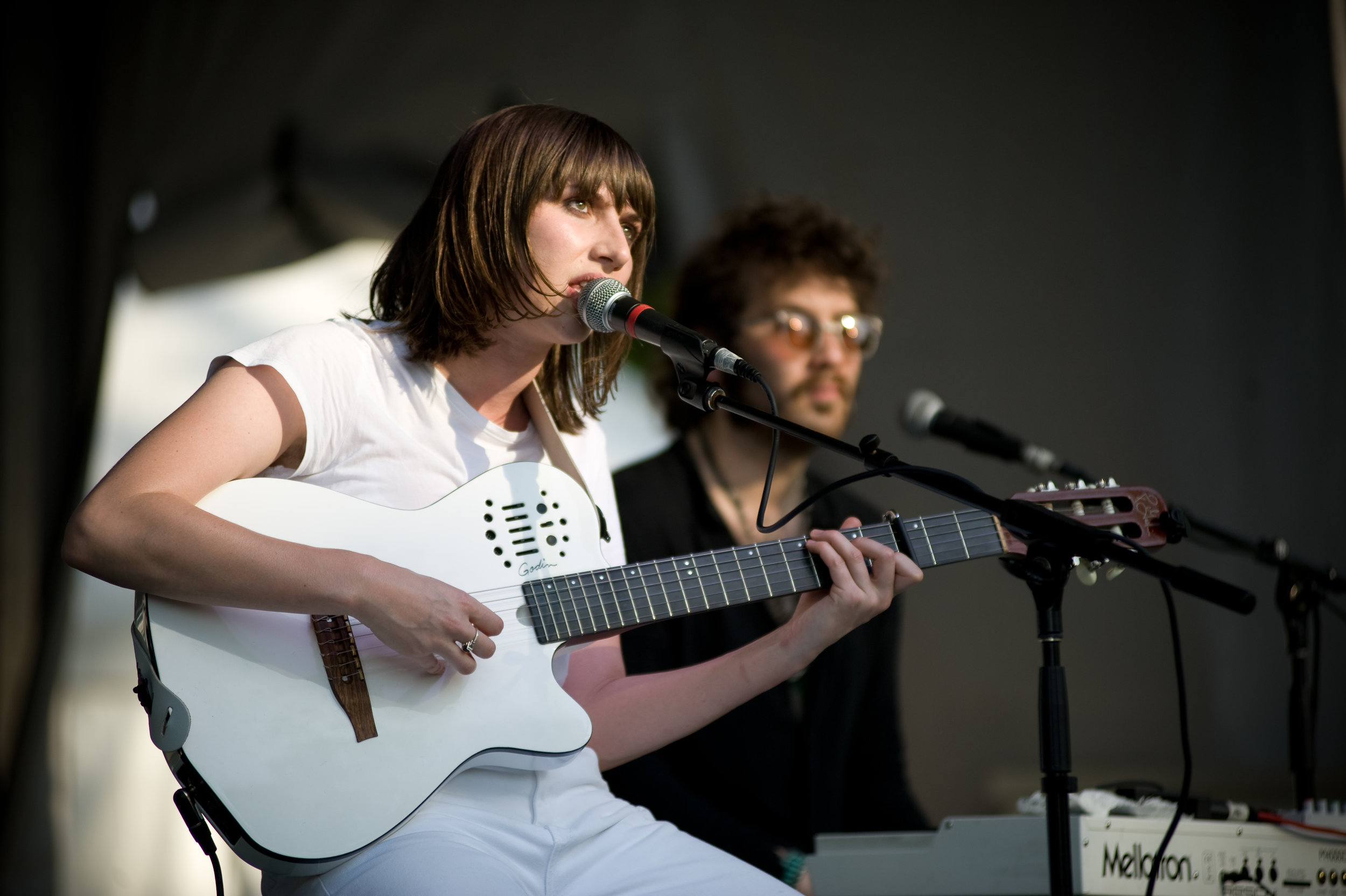 An unusual and happy surprise for my earbuds,  Aldous Harding  (and Invisible Familiars) were a favorite of my weekend. So glad I got to see two performances of theirs at this year's fest.