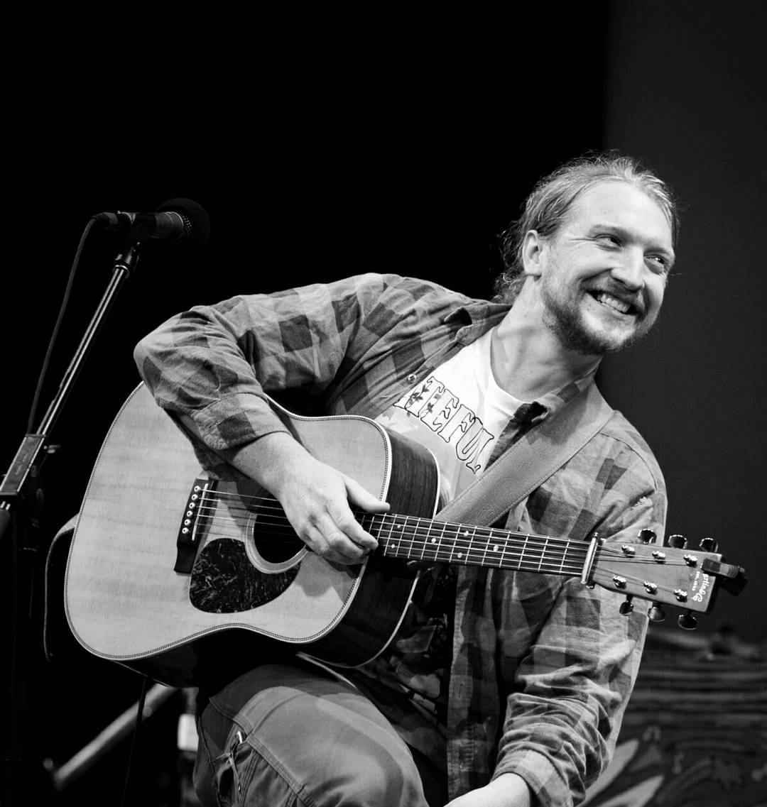 Tyler Childers at Mountain Stage, by  Rafael Barker.