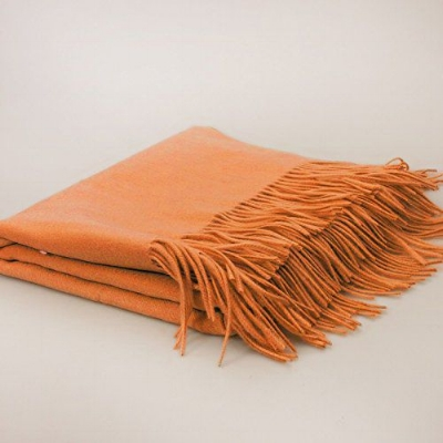 Orange-Throw-Blanket