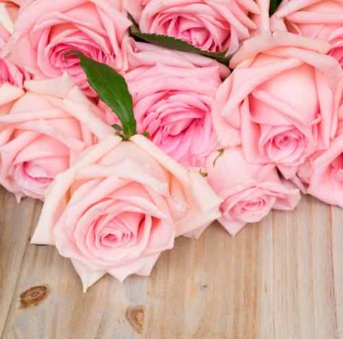 American tea roses, notice how the petals curl back.