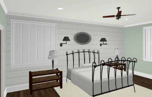 Bedroom Furniture and Space Plan
