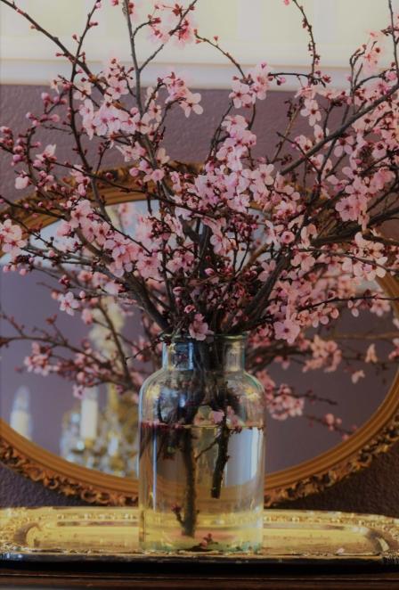 Vase Of Pink Petals