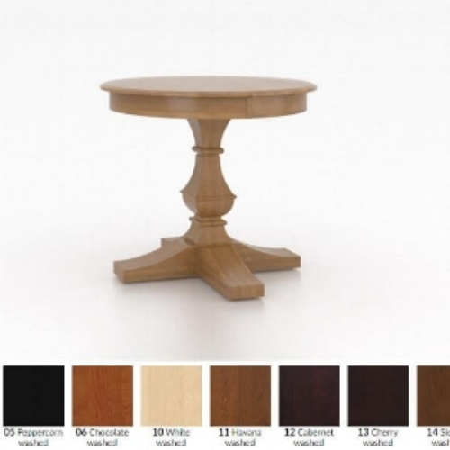 This is an example of a piece you could select and then customize the finish to what best suits your decor and style.