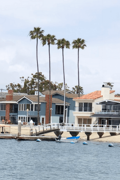 A view of Balboa Island.