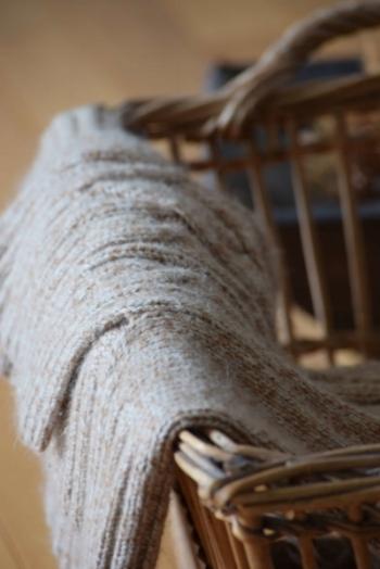 blanket in a basket