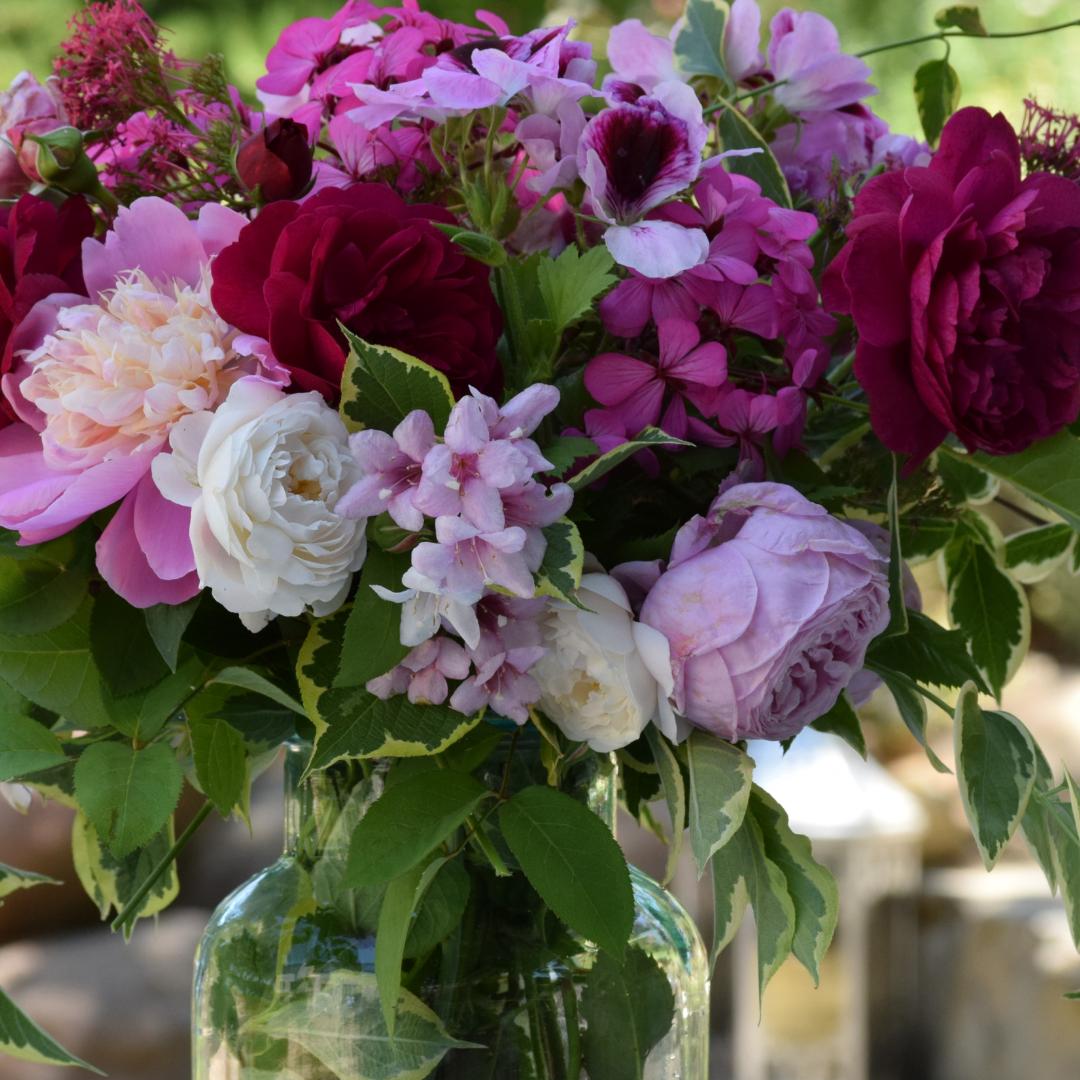 Roses-Geraniums-Peony-Bouquet