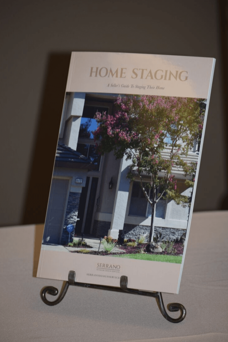 Here's a picture of my Home Staging Book.
