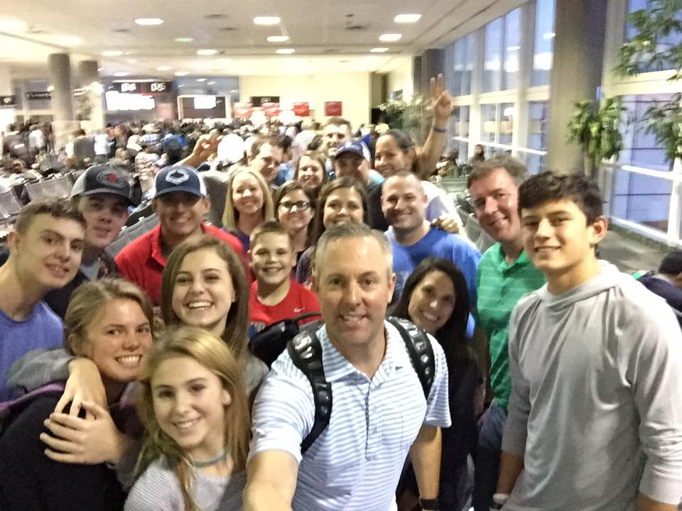 Team Jana is ready to take off from Houston.