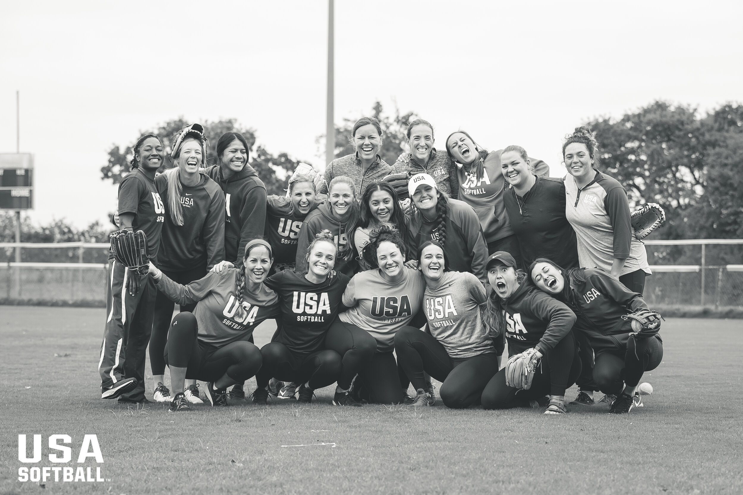 This group is special, and my heart is so full as we go our own ways for a bit. To say this journey will be exciting is an understatement. I really can't wait to write this chapter of USA Softball with these 17 women.