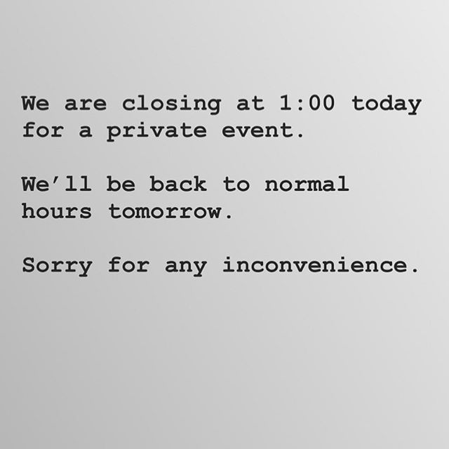 Sorry for any inconvenience. Back at it normal hours tomorrow.