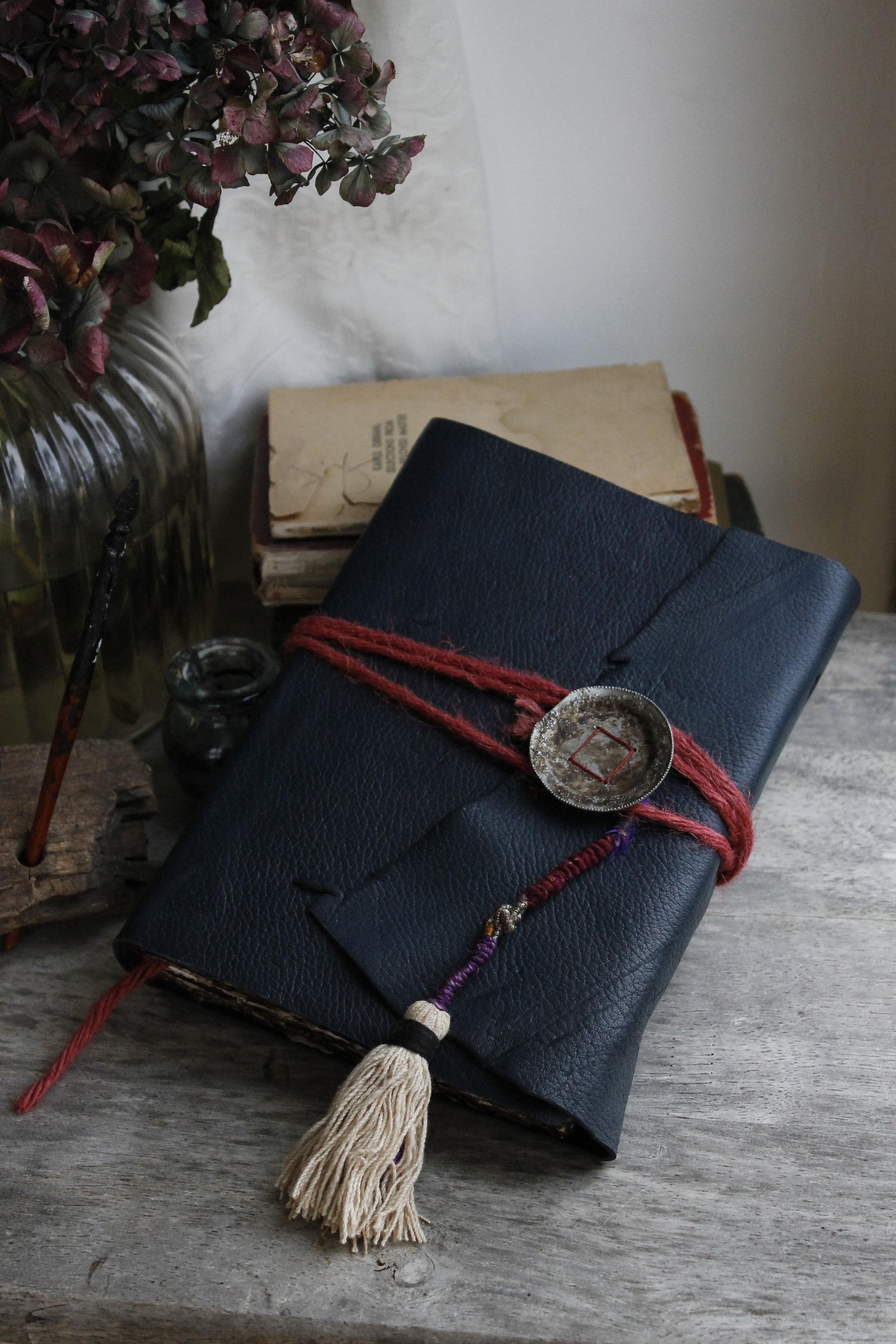 Pretty Leather Art Journal