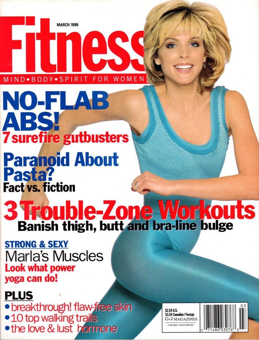 Fitness Magazine, Cover & Full Spread
