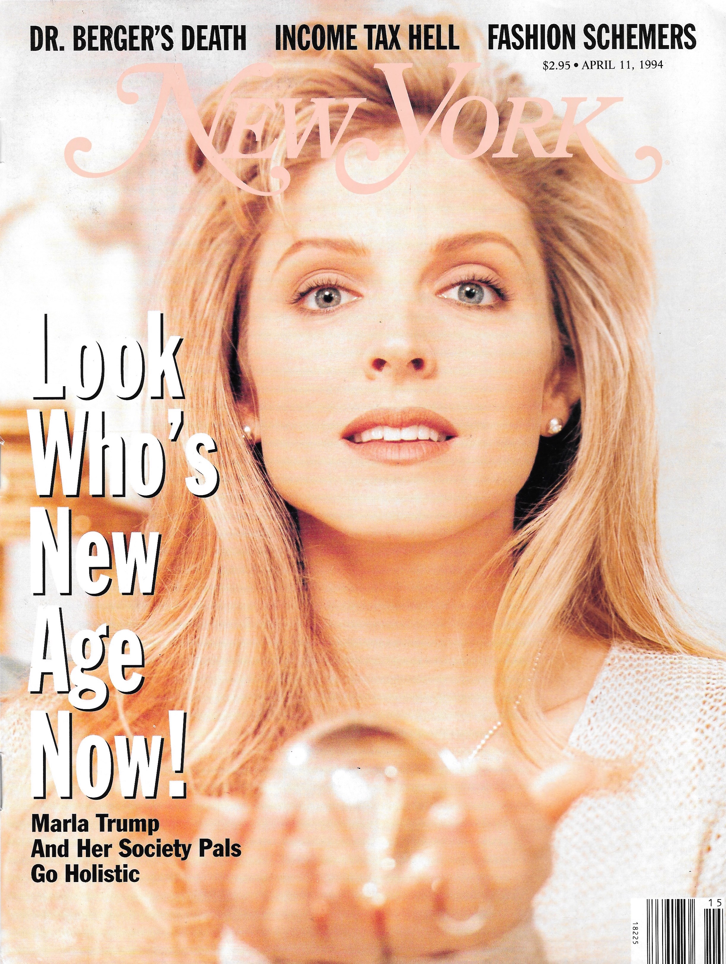 New York Magazine, Cover & Full Spread