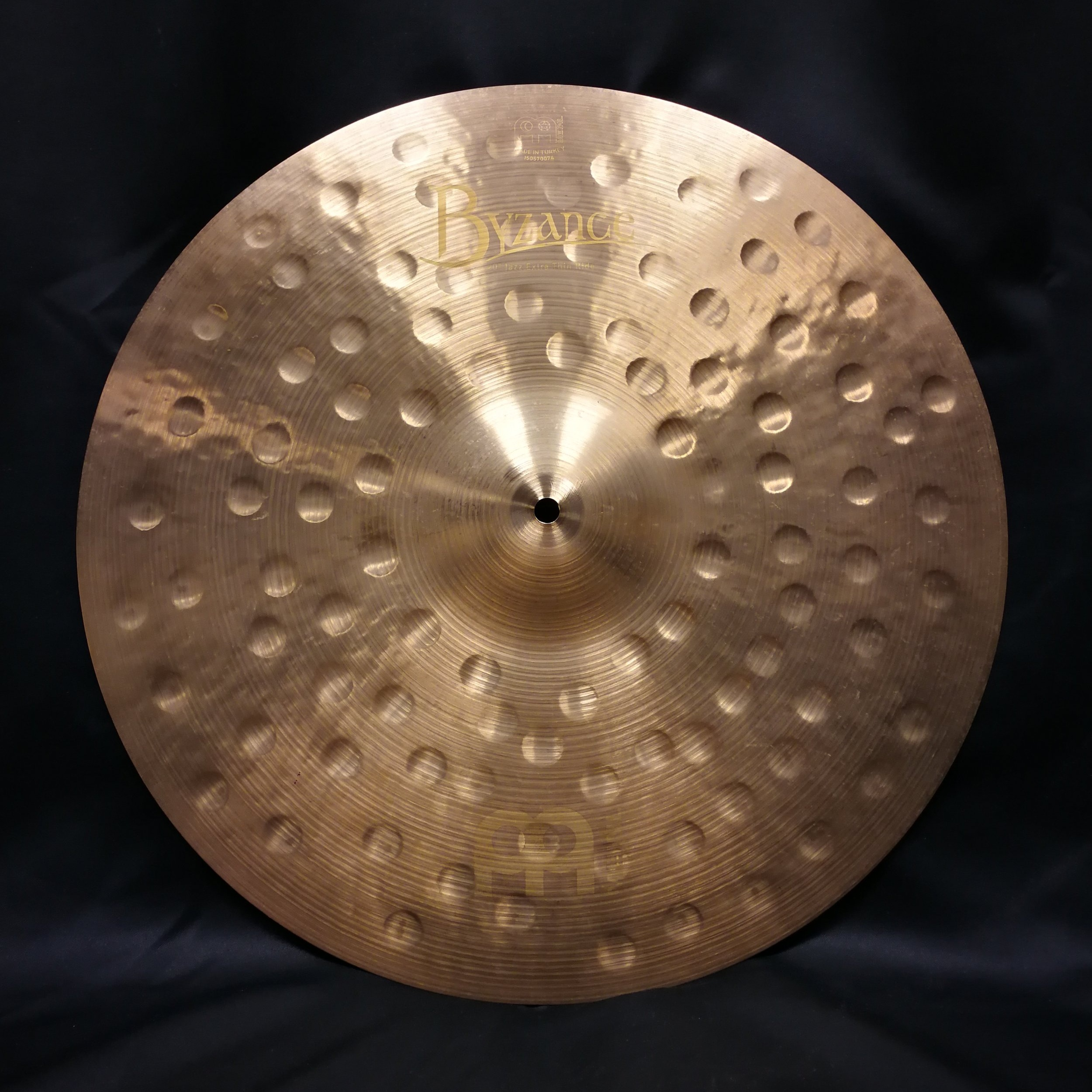 """20"""" Byzance Jazz Extra Thin Ride (used mainly as a crash)"""