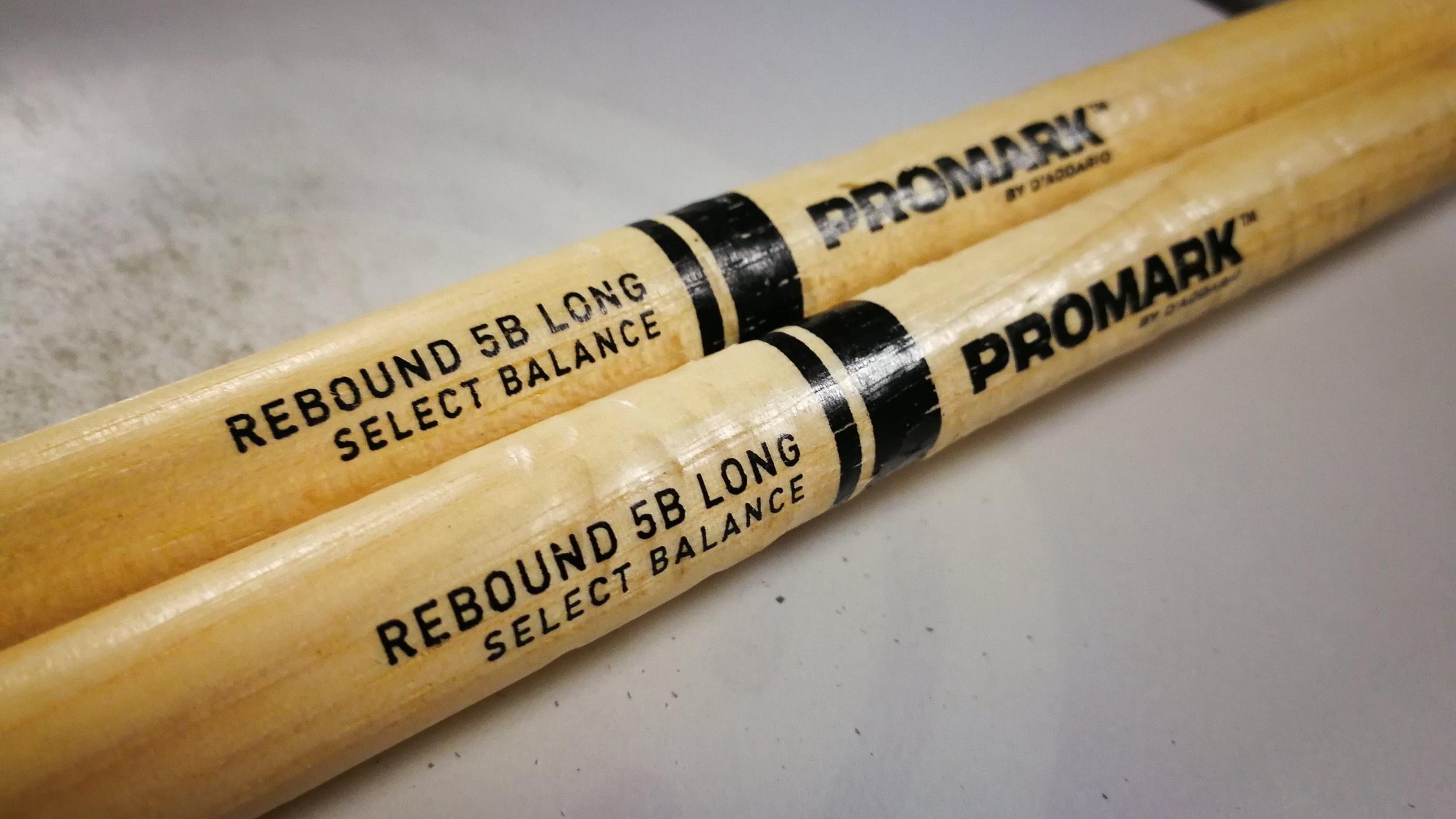 Promark 'Intruder' drum sticks.