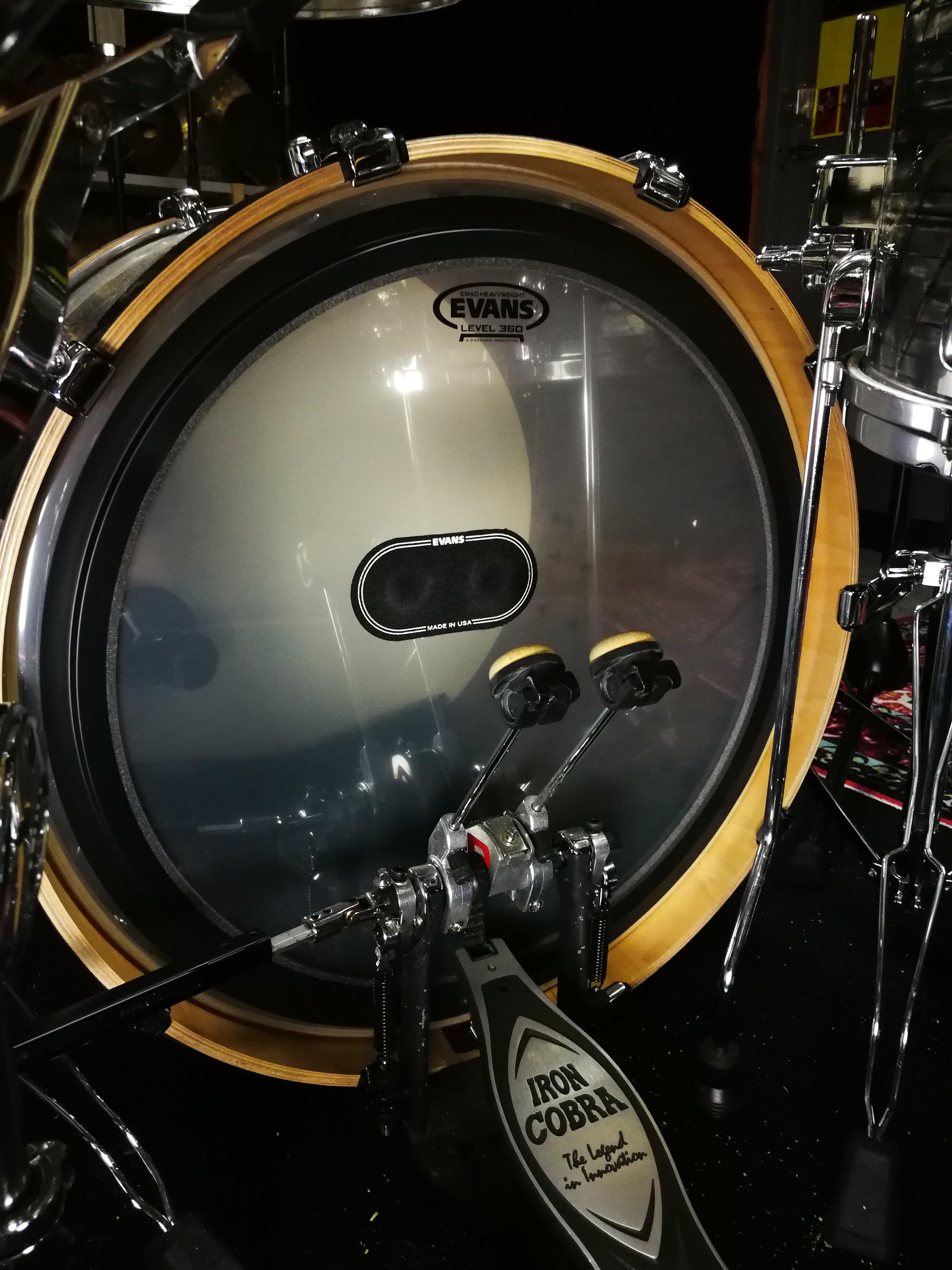 Evans Drumheads - Siros Vaziri